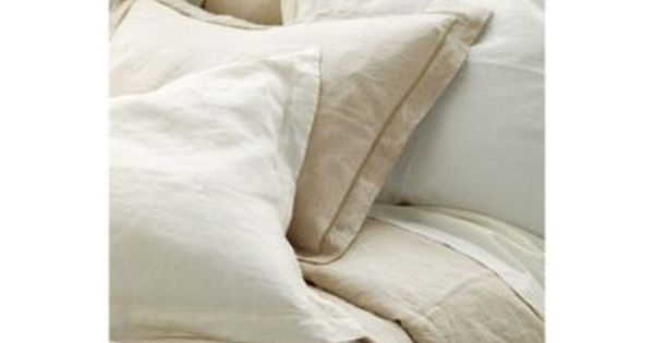 Linen duvet european inspired home furnishings ballard designs