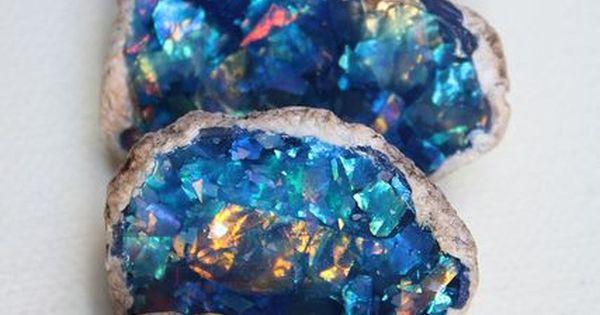 Opal ❧ ❦ CRYSTALS ❦ semi precious stones ❦