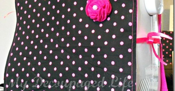 Make It: Easy Sewing Machine Cover - Tutorial sewing