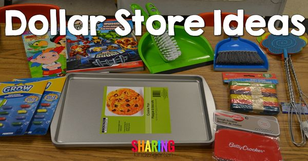 Collaborative Classroom Store ~ Dollar store ideas for your classroom kinderland