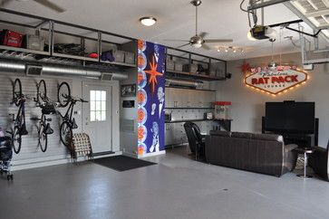 This Homeowner Wanted To Use His Garage As An Entertainment Hub