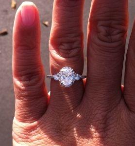 Oval Diamond Engagement Rings Weddingbee Three Stone Engagement Rings Oval Diamond Engagement Ring Engagement Ring Shapes