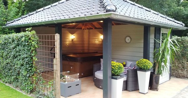 Prachtig prieel veranda pinterest tuinhuis tuin en veranda - Pergola provencaalse ...