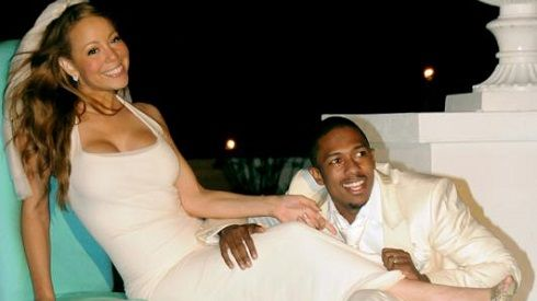 April 30 Today In 2008 Mariah Carey Married Actor Nick Cannon The Bahamas Daily Music Trivia Pinterest Actors And