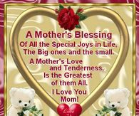 A Mother S Blessing Happy Mothers Day Pictures Happy Mothers Day Images Happy Mothers Day
