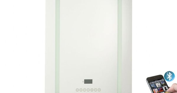 Tenor Illuminated Bluetooth FM / DAB Bathroom Radio Mirror