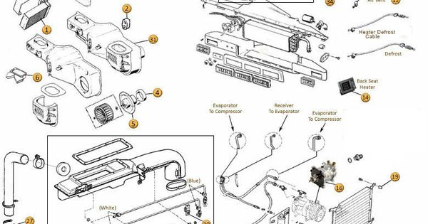 interactive diagram  c  u0026 heating jeep parts