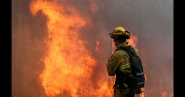 California Forest Service Reports Hunter Caused Huge Wildfire