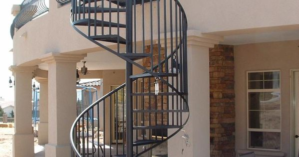 Best Metal Spiral Staircase For Sale Standard Exterior Spiral 640 x 480