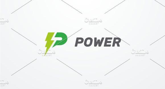 Power – Letter P Logo