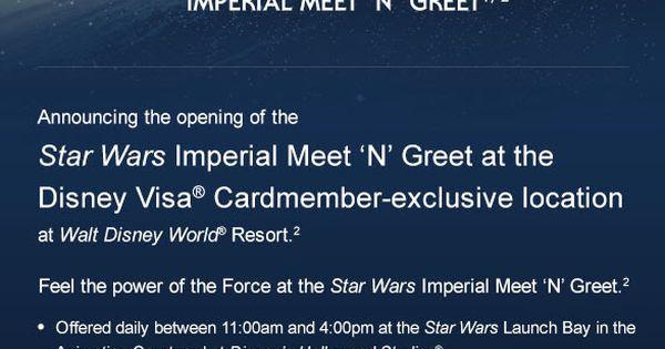 disney visa star wars imperial meet and greet