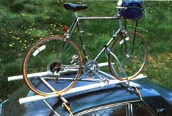 How To Build A Car Bike Rack Mother Earth News Car Bike Rack Bike Roof Rack Diy Bike Rack