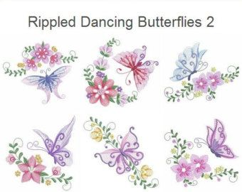 RIPPLED ROSE BLOCKS 4inch AzEB - 12 Machine Embroidery Designs Instant Download 4x4 hoop