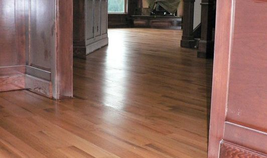 Natural Quarter Sawn Red Oak Floors No Stain We Ll See