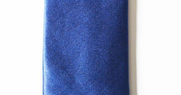 Mens Tie Royal Blue Modern Style Skinny Necktie by TiestheKnot, $8.99