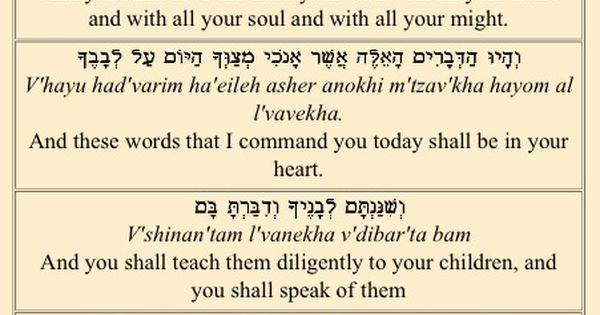 The shema israel-7766