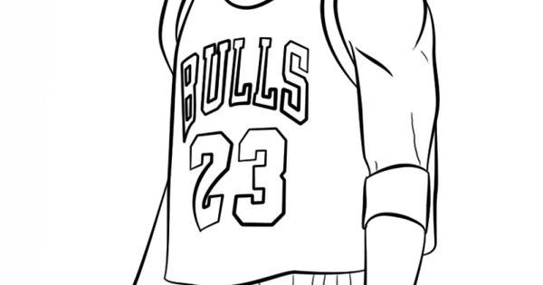 Michael Jordan NBA coloring pages