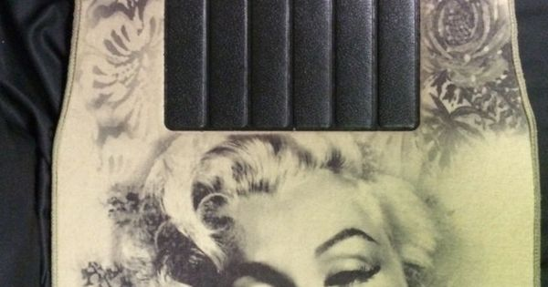 Details About Marilyn Monroe Tan Car Floor Mats Cars