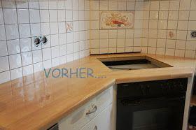 Kuchenrenovierung Kuchenschranke Streichen Mit Kreidefarbe Alte Kuche Kuche Neu Gestalten Kuche Lackieren