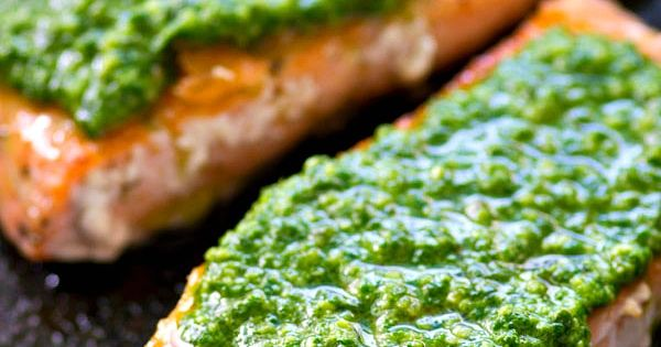 Pan Seared Salmon On Spinach In Tarragon Sauce Recipe — Dishmaps