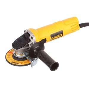 Dewalt 7 Amp 4 1 2 In Small Angle Grinder With 1 Touch Guard Dwe4011 The Home Depot Angle Grinder Dewalt Neo Angle Shower