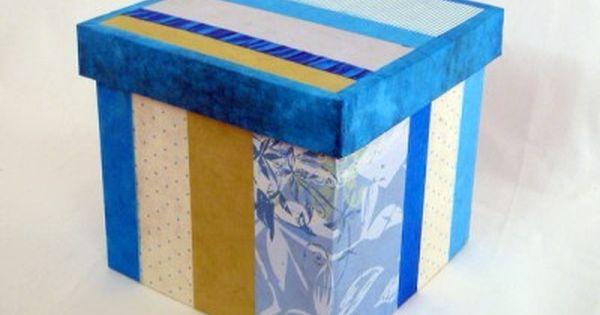 Tutoriel bo te en carton d coration partie 3 cr er for Tutoriel meuble en carton
