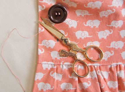 Sewing on a Button - i so needed this... don't judge me