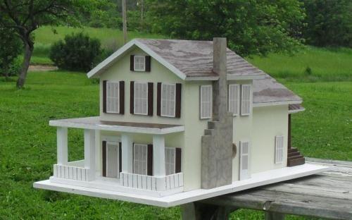 Custom Replica Birdhouses Birdhouses That Look Like Your Home
