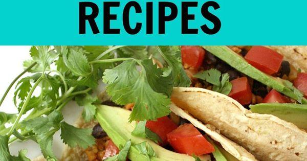 110+ awesome VEGAN Mexican recipes!! Tacos, burritos, enchiladas, fajitas, sauces, dips, and