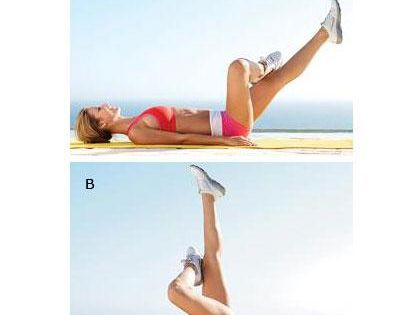Targets the lower-abs and obliques. fitness workouts exercises