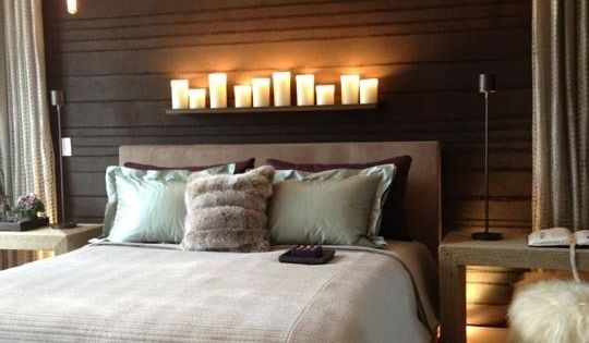 how to create a romantic mood in a bedroom