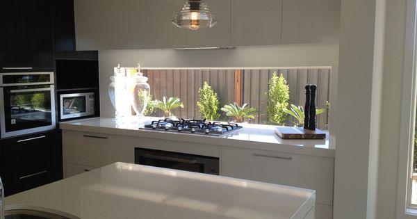 Window splashback cupboards overhead kitchen ideas for Overhead kitchen cupboards