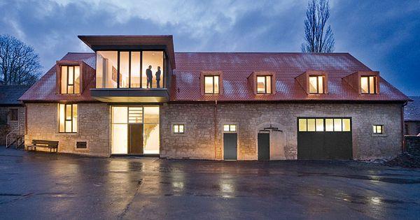 von der scheune zum architekturb ro umbauten pinterest scheunen bauernhaus und architektur. Black Bedroom Furniture Sets. Home Design Ideas