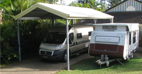 Gable Carports That Are Designed For Vehicles Such As