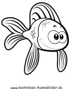 Ausmalbild Fisch 5 Ausdrucken Ausmalbilder Fische Ausmalen Ausmalbild