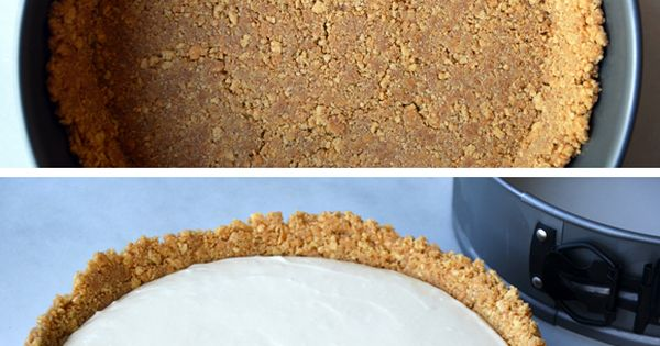Easy No-Bake Cheesecake (use gf graham crackers or cinnamon Chex). Never thought