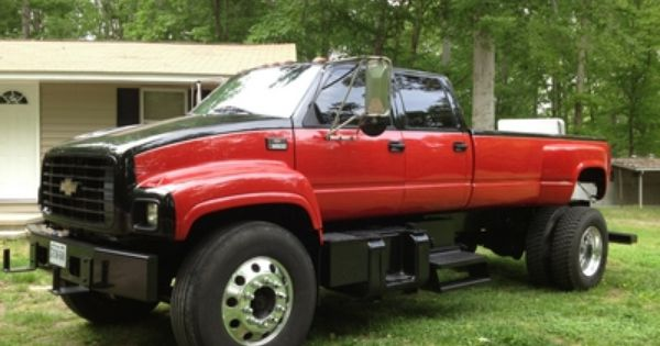 Custom Kodiak Trucks Custom 97 Crew Cab Kodiak W 12 Ft Bed L For Sale Custom Trucks Trucks Custom Pickup Trucks