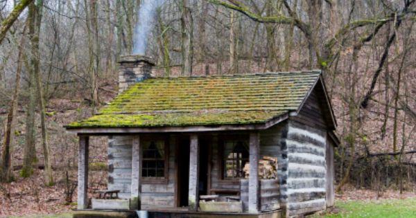 Log Cabin Cabin Hillbilly Forest Log Appalachian
