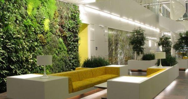 Contemporary Vertical Garden for Hotel Lobby