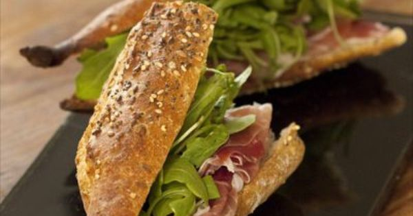 Sandwiches, Prosciutto and Meat on Pinterest