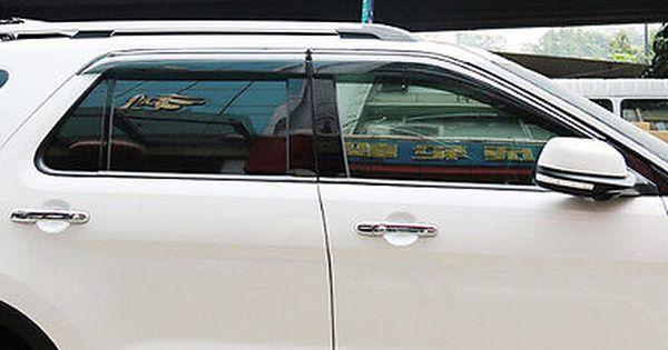 Window Visor Vent Shades Sun Rain Guard For Ford Explorer 2011 2012 2013 2014 Ford Explorer Ford Replacement Parts
