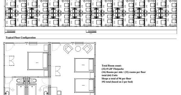 Motel Style Plan Floor Plans Pinterest Motel And Room