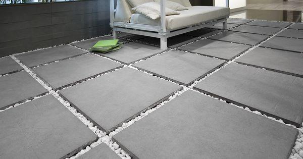 neue generation von terrassenplatten del conca. Black Bedroom Furniture Sets. Home Design Ideas
