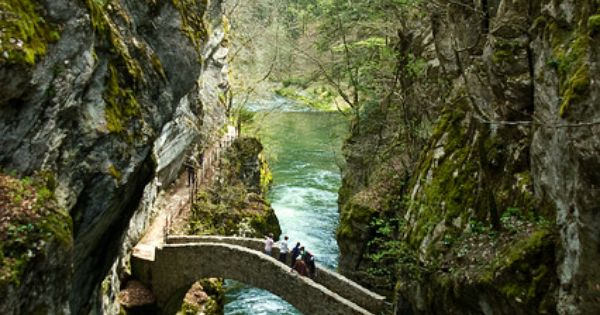 Gorges de l Areuse, Switzerland