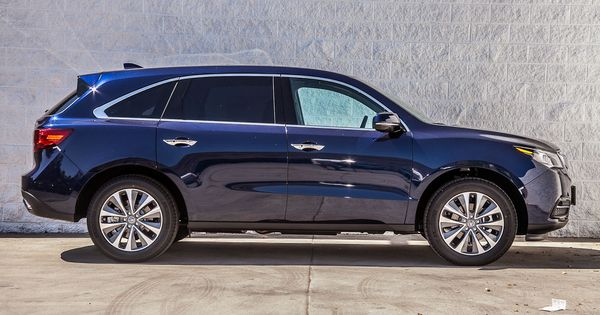 Blue 2014 Acura Mdx Acura Mdx Acura Compare Cars