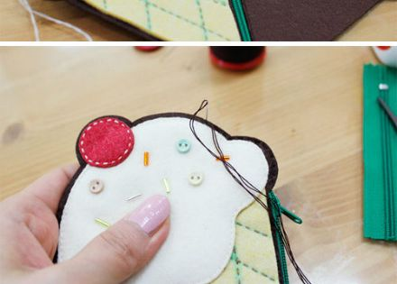 Kawaii felt icecream ! So easy !