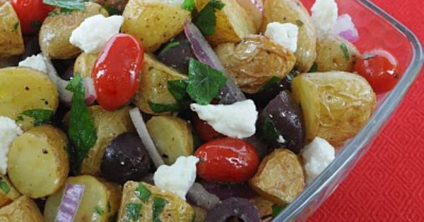 Savory Mediterranean Potato Salad Recipe