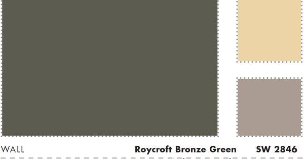 Sherwin Williams Roycroft Bronze Green A Fourth Color