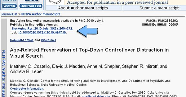 how to publish research paper in pubmed ncbi