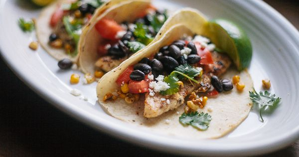 Lime chicken tacos, Roasted corn and Lime chicken on Pinterest